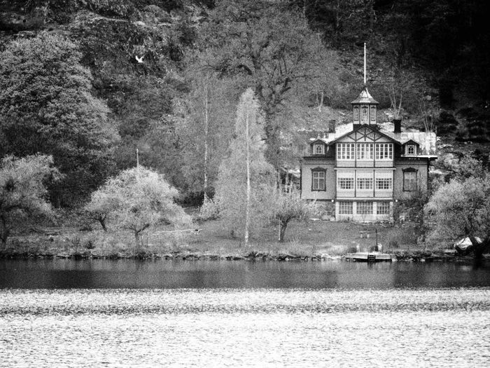 Outdoors Day Tree Architecture Sweden Building Exterior Lake Lakeview Photojournalist-2017 EyeEm Awards Photooftheday Travel Travelphotography Built Structure Stockholm, Sweden Kungshatt First Eyeem Photo