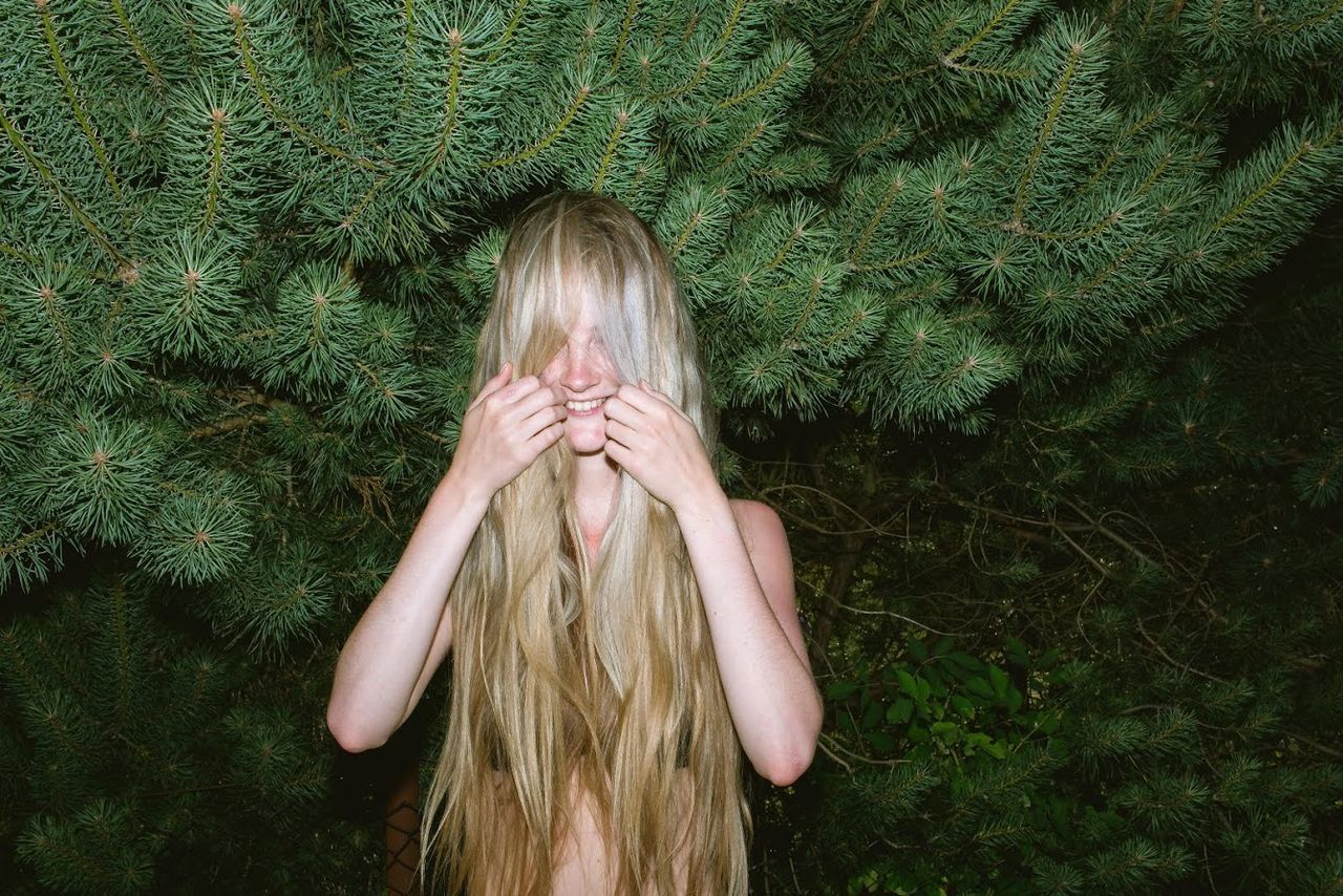 I saw something in the forrest. Nature Colors Portrait Badhairday Beauty Hair Blonde