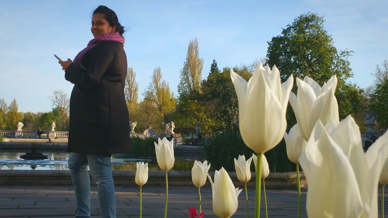Beautiful stock photos of tulip,  30-34 Years,  Beauty In Nature,  Beginnings,  Casual Clothing