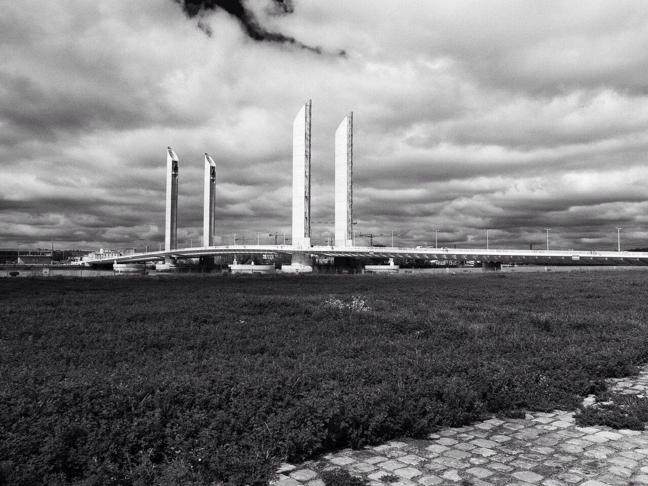 Bordeaux Pont Chaban-Delmas Black & White Bw-collection