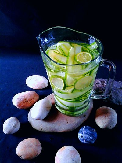Liquid Lunch Healthy Lifestyle Healthy Drinks Cucumber Water Lime Water Detox Water