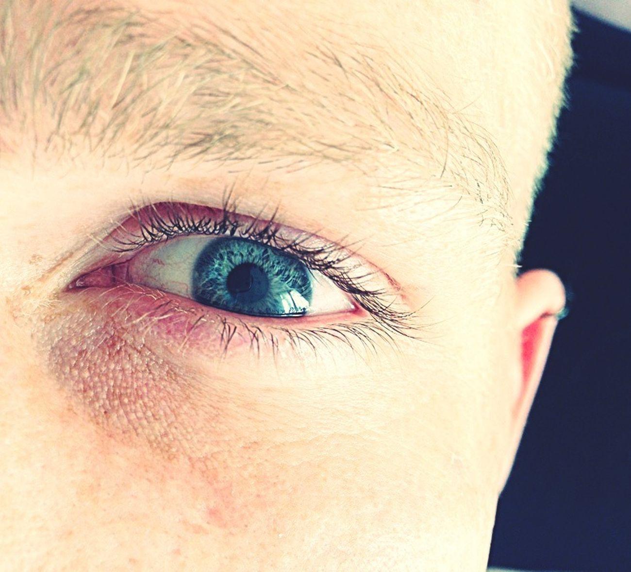 Eye Blue Eyes My Man