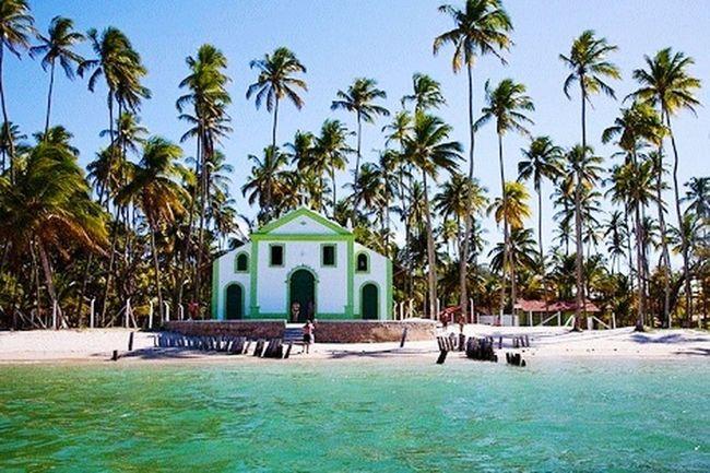 Igrejinha Praia Dos Carneiros Tamandaré Brasil