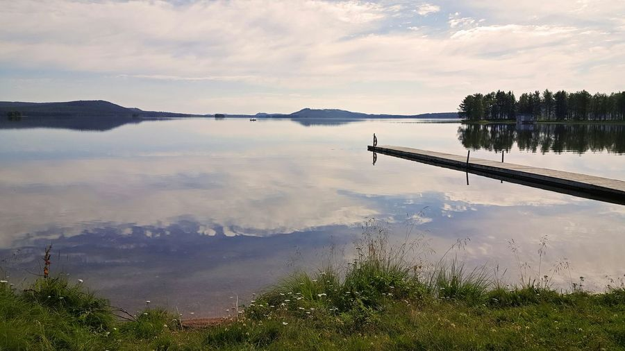Gråträsk in Sweden. Norrbotten Sweden Nature_collection EyeEm Nature Lover Water Reflections Enjoying Life Hanging Out EyeEm Best Shots EyeEm Gallery Protecting Where We Play