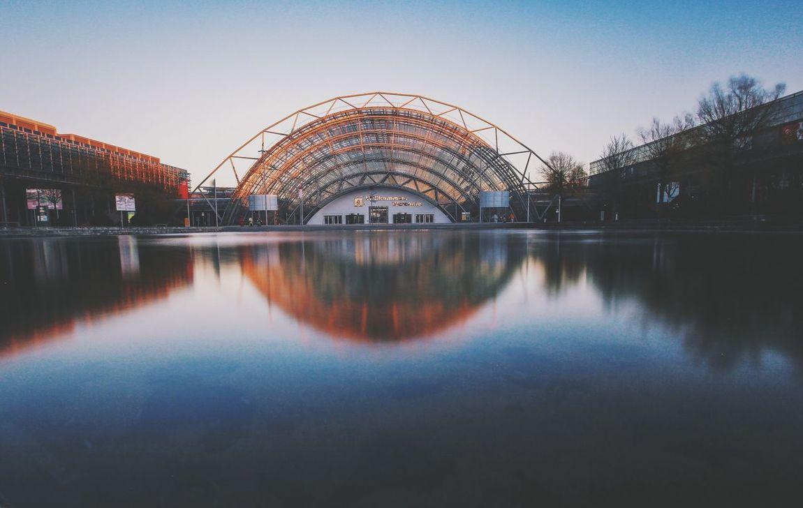 Architecture Leipzig City Sunset