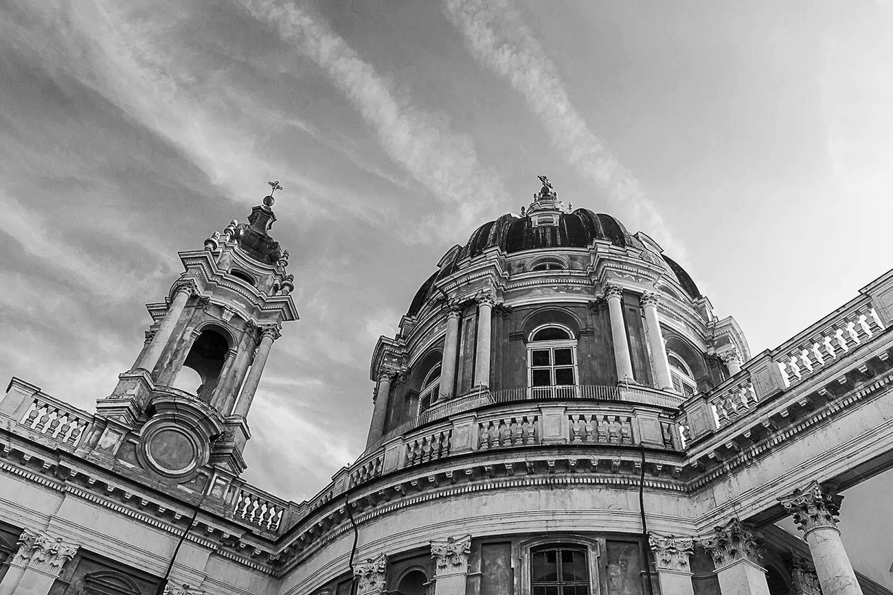 Basilica di Superga The Architect - 2016 EyeEm Awards Architecture Architecture_collection Piemonte Turin Italy Torino Superga (To) Basilica Church Chiesa Blackandwhite Black And White Black & White