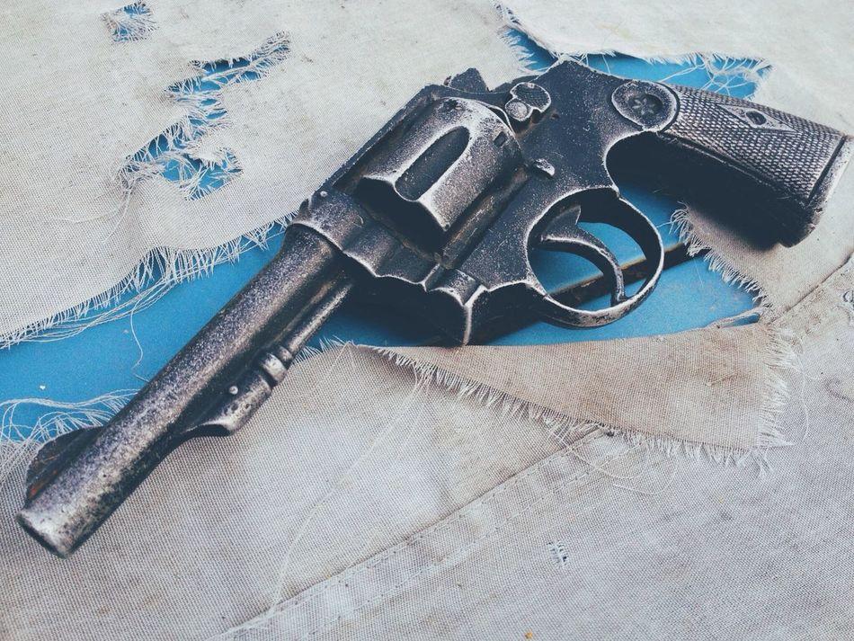 Beautiful stock photos of gun, Close-Up, Day, Handgun, Linen