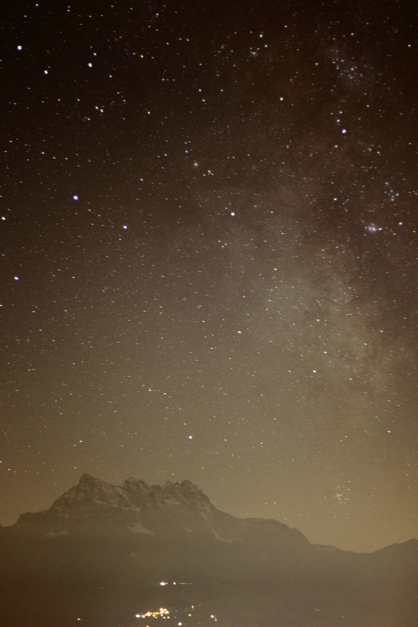 Scenic View Of Starry Sky At Night