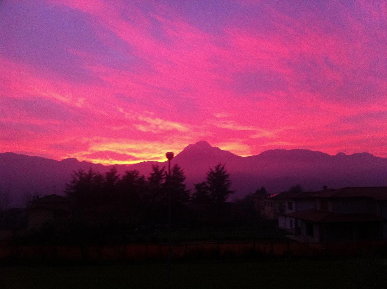 Sky Sunset Clouds