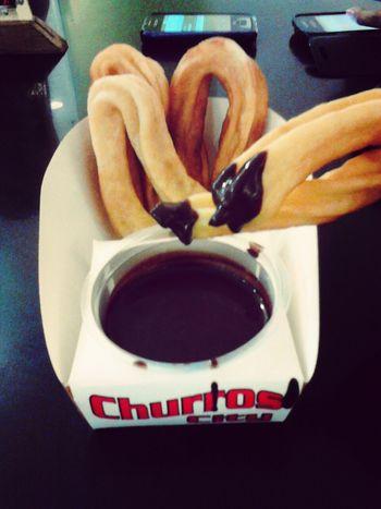 Home from G Mall , Ateneo Davao & SM City ;) Foodporn ChurrosCity