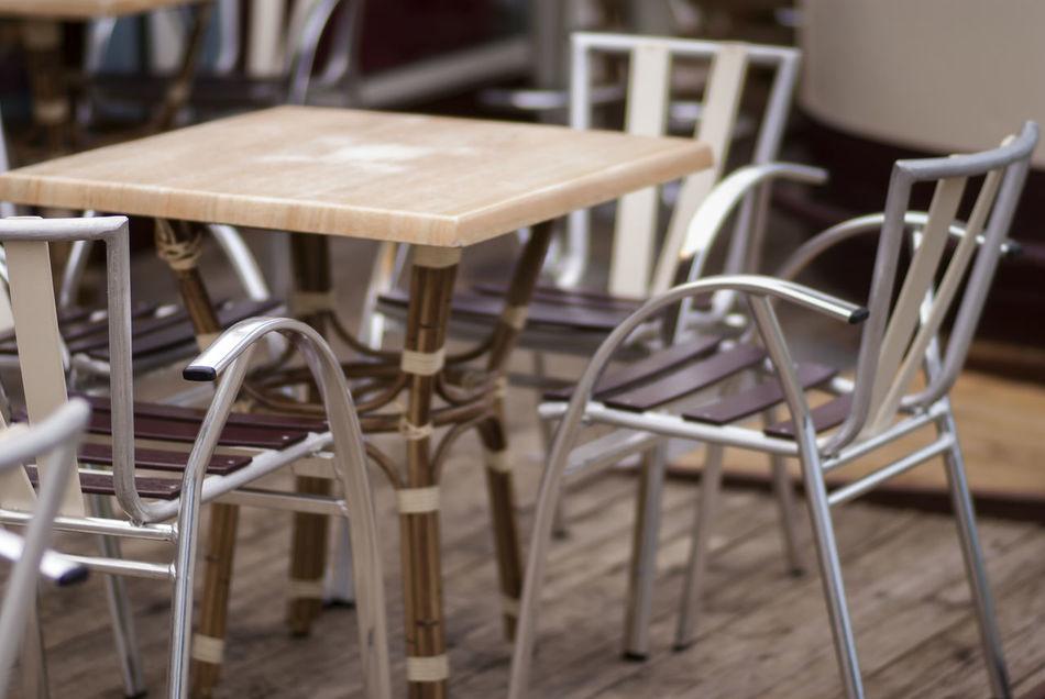 Beautiful stock photos of bar, Absence, Arrangement, Brown, Chair