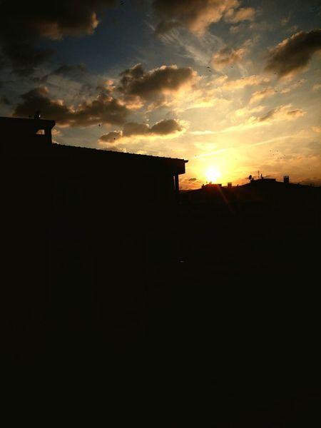 Clouds And Sky Yellowsky Sun Phonecamera Turkeybalıkesir Eyeem Turkey My Best Photo 2015