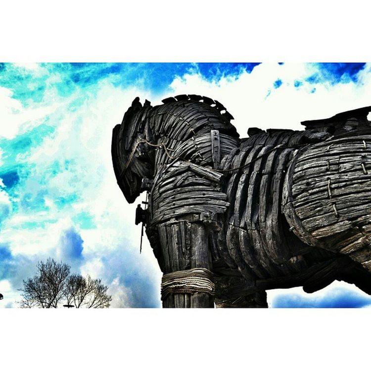 Troia Troy Truva çanakkale cloud winter