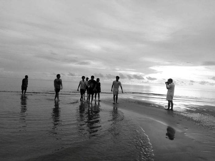 People Together Beachphotography Cadid Palawan Philippines Palawan Beach Monochrome Photography Miles Away Live For The Story The Great Outdoors - 2017 EyeEm Awards