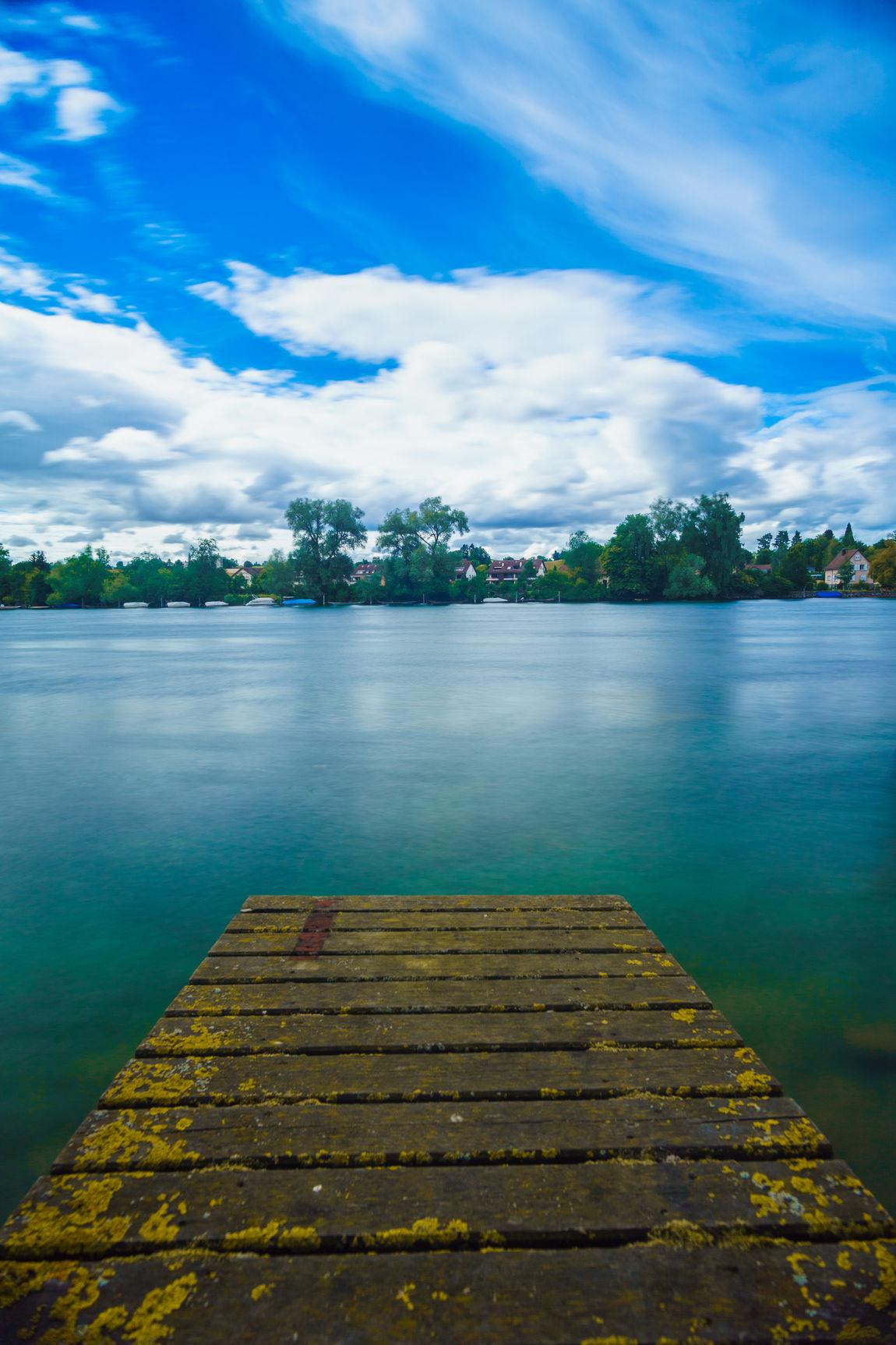 #Blue #Forward #greatmoment #landscape #mirror #Nature  #nopeople #Rhein #water #way