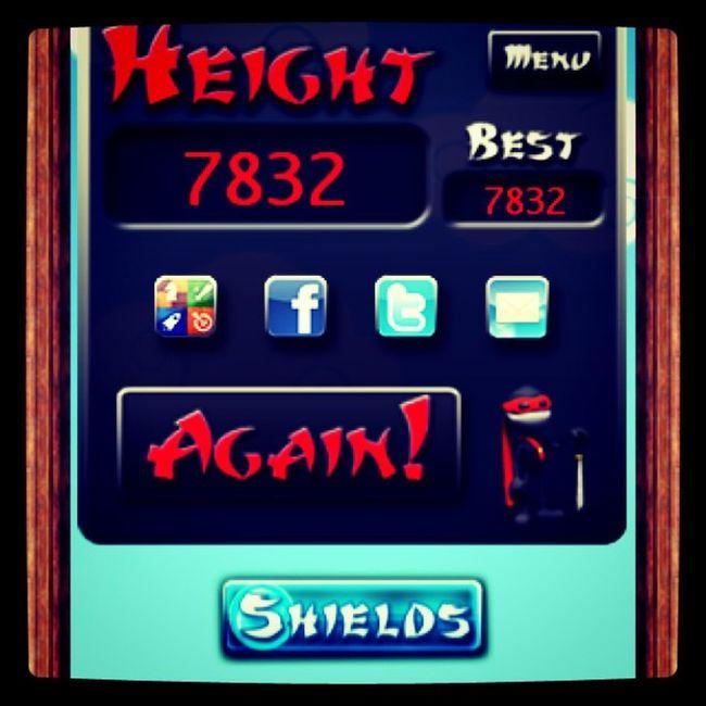 Almost 8k! Sayang Ninjajump Adikmode IPhone