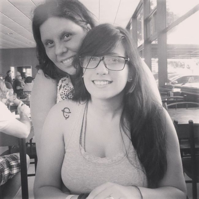Mãe. Te amo...