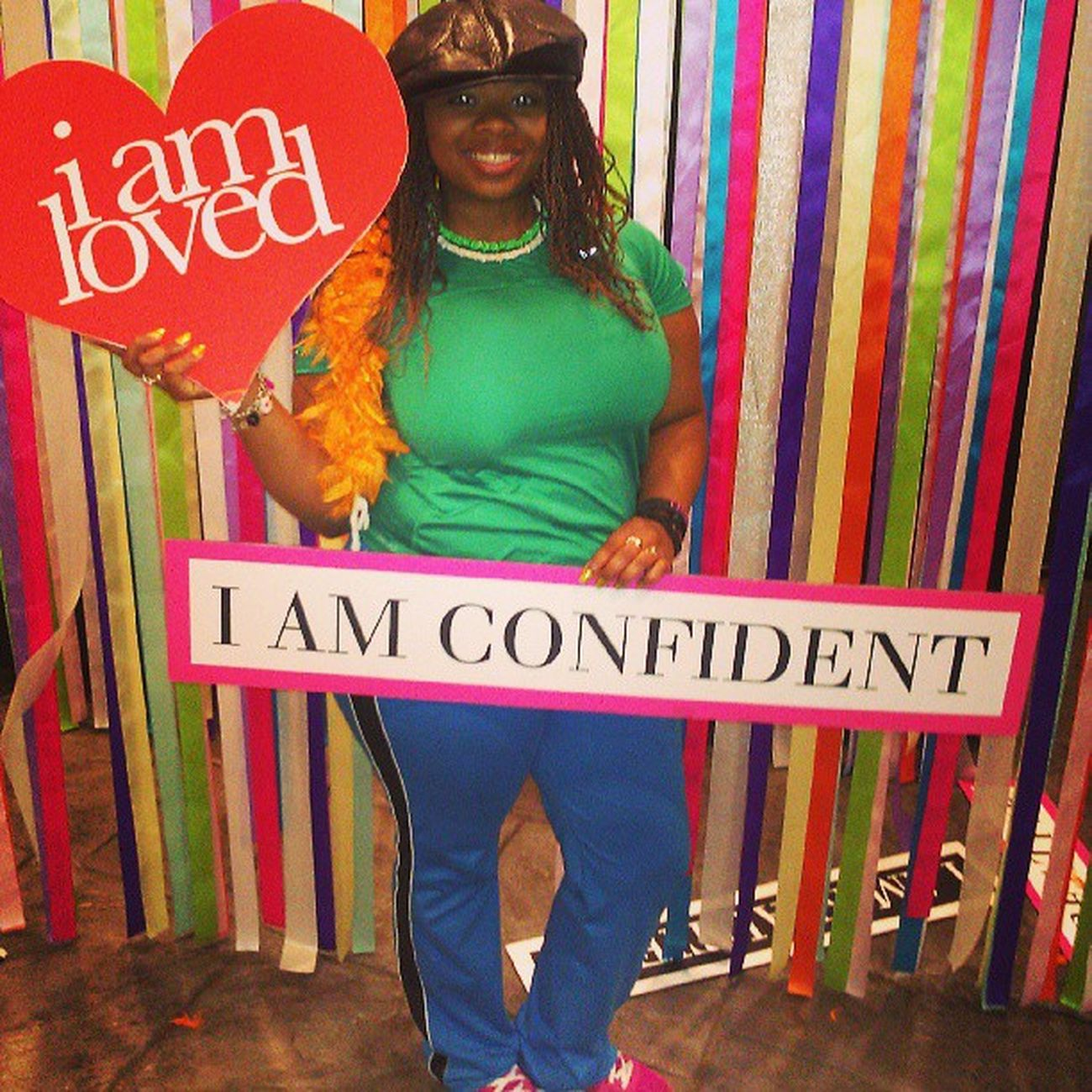 Pic from the woman's conference. _√