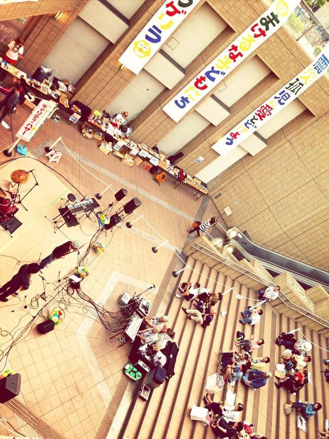 負けるな子供たち Earthquake Singer  Concert Play For JAPAN