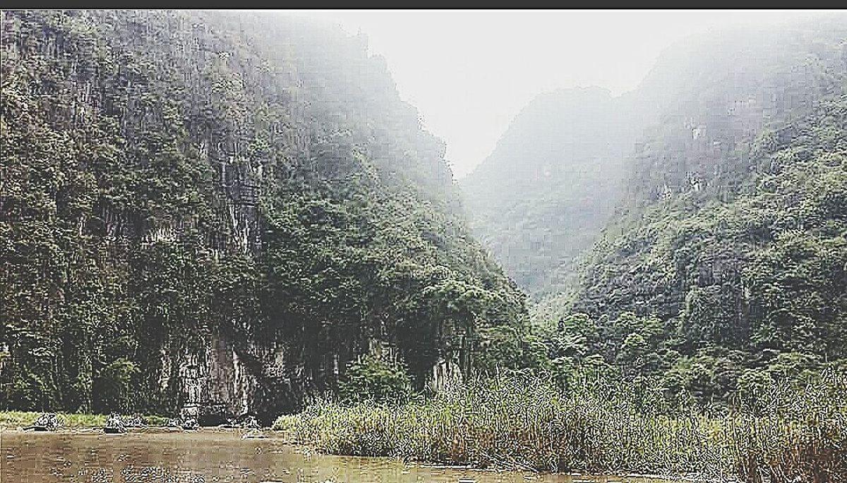 Ngo Dong River Sampans Hoa Lu Vietnam