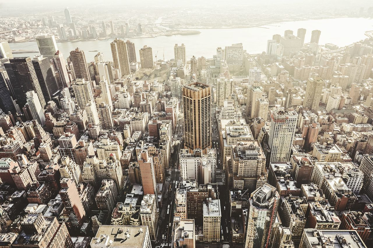 Aerial Shot EyeEm Best Shots Open Edit Newyork Growing Better Cityscapes Urbanphotography Amazing Architecture I Heart New York From The Rooftop A Bird's Eye View
