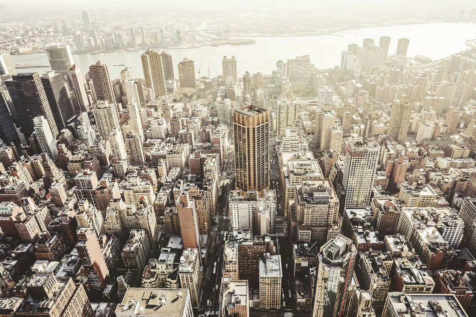 Beautiful stock photos of skyscrapers, Aerial View, Architecture, Building Exterior, Built Structure