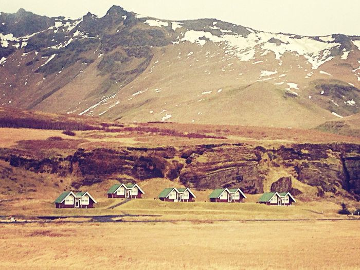 Iceland. Iceland Vik Snow So Far From Home