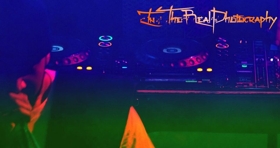 Dj Set Dj Desk Light Change EyeEm Gallery MC Elevated Bass Rave Colours Music Lights And People Popular Lights Live Music Buttons