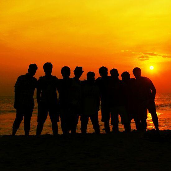 Goa Friends My Best Photo 2014 Mygang MyGallery Life Is A Beach Seaside Sunset The EyeEm Facebook Cover Challenge EyeEm Best Edits