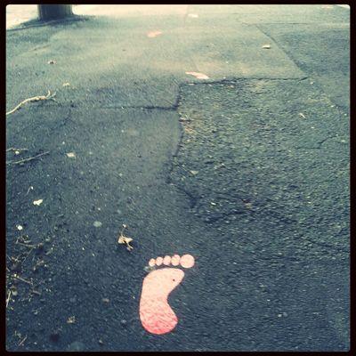 Footprints at Darby Street by Owoteva