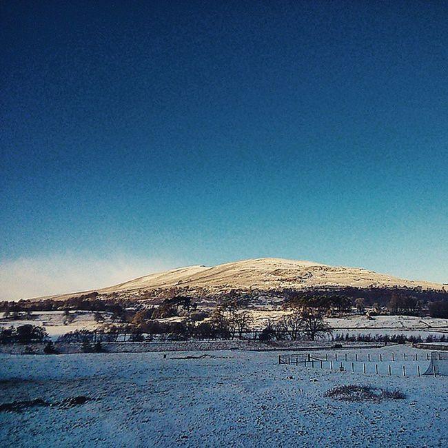 Sprinkling of new year snow Snow Kincraig