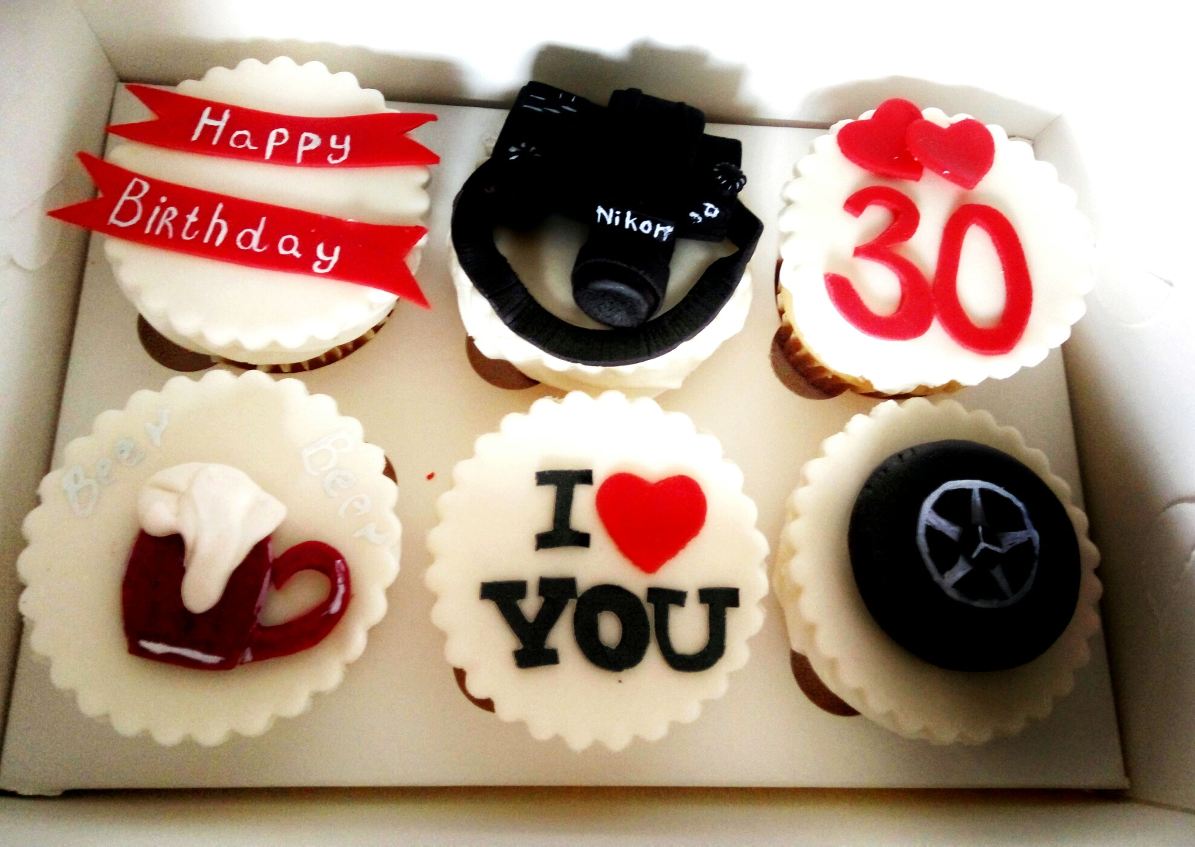 text, western script, communication, number, food and drink, sweet food, indoors, dessert, food, no people, red, ready-to-eat, close-up, freshness, cupcake, day