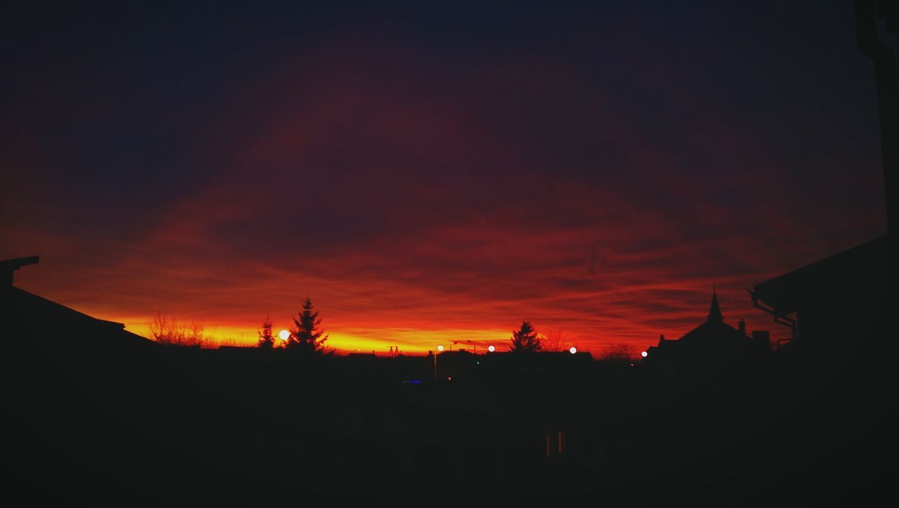 Sunset RedSky RedClouds  Poland First Eyeem Photo