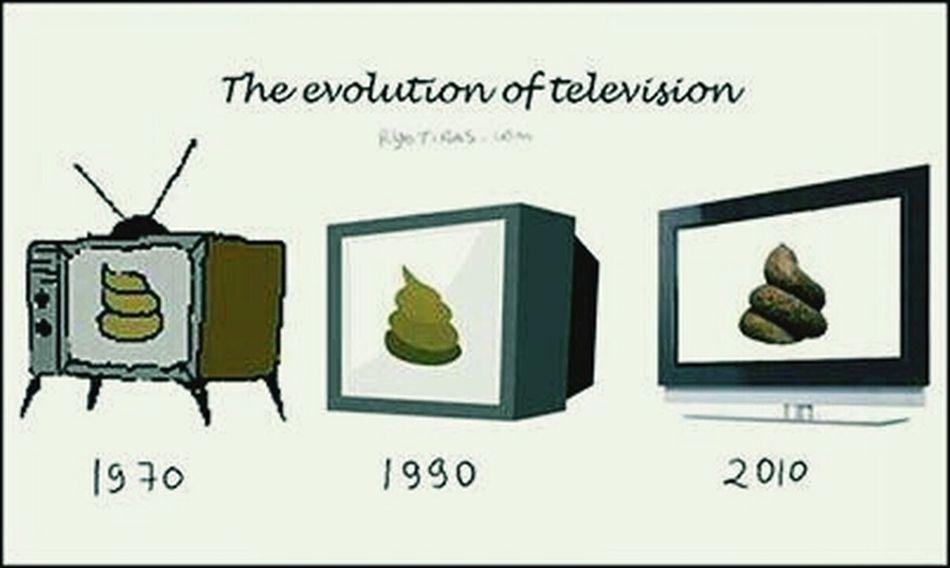 Deswegen werde ich mir NIE einen Fernseher zulegen. Einfach nur Scheiße