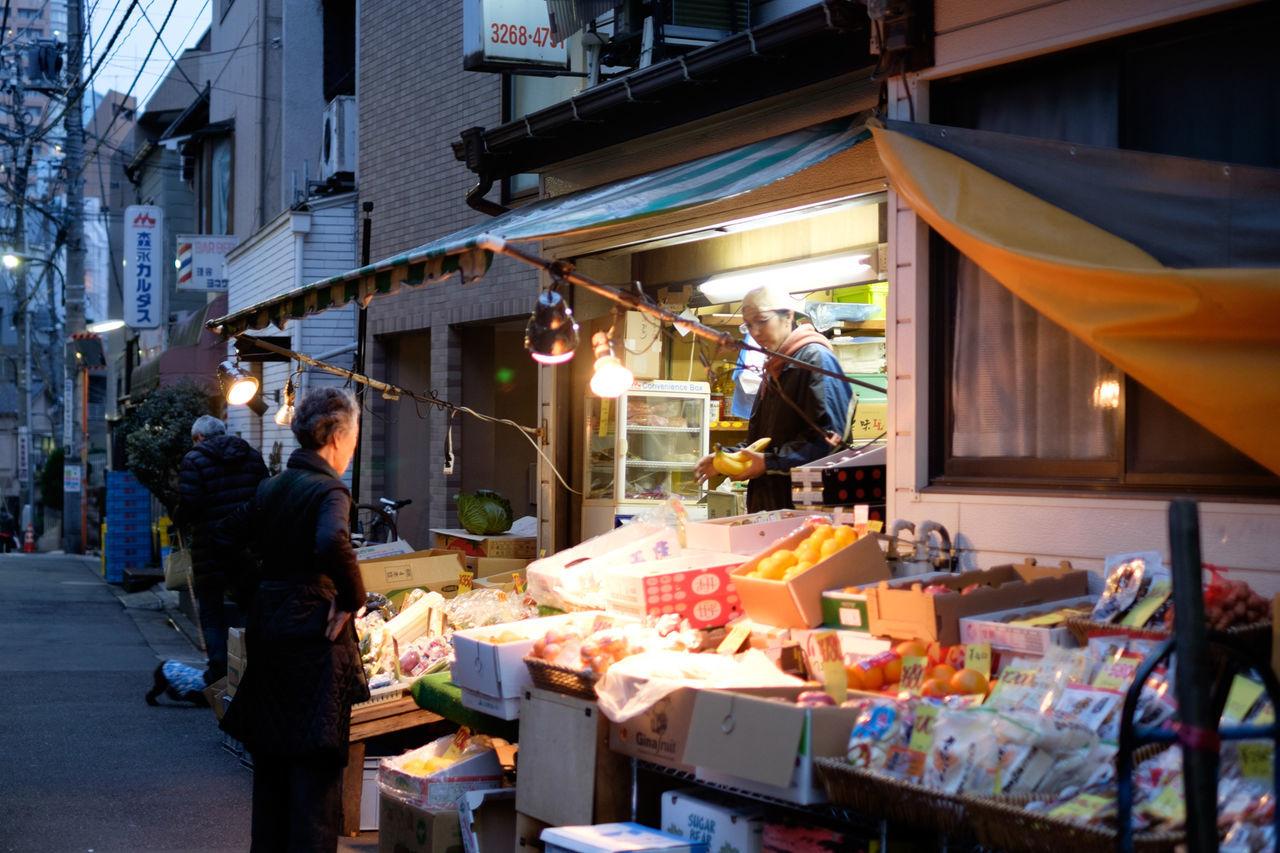 Fujifilm Fujifilm X-E2 Fujifilm_xseries Japan Japan Photography Kagurazaka Retail  Store Street Tokyo Xf35 Xf35mm 八百屋 日本 東京 神楽坂