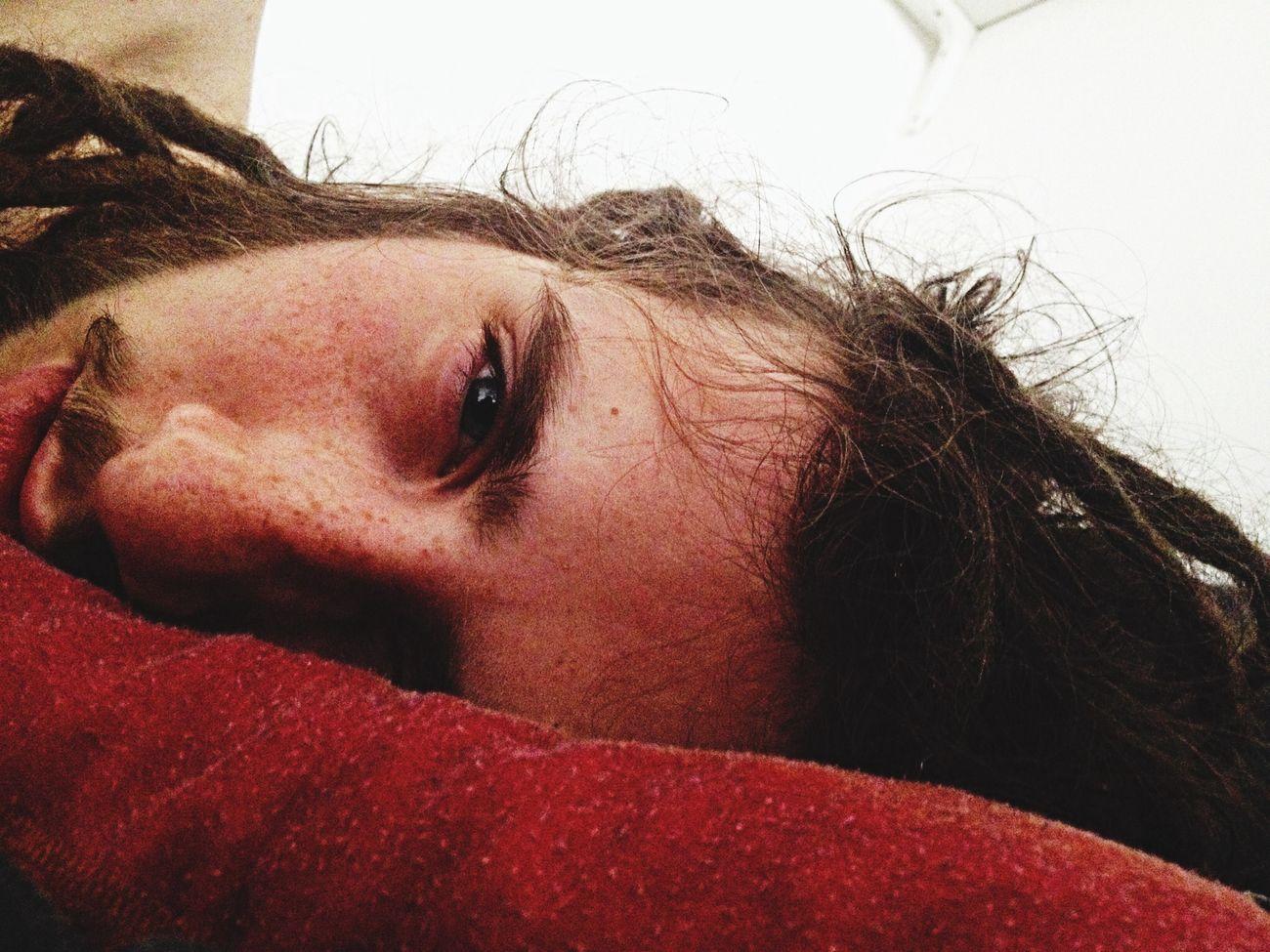 Těžká rána... First Eyeem Photo Dread Head Dreadlocks Portrait