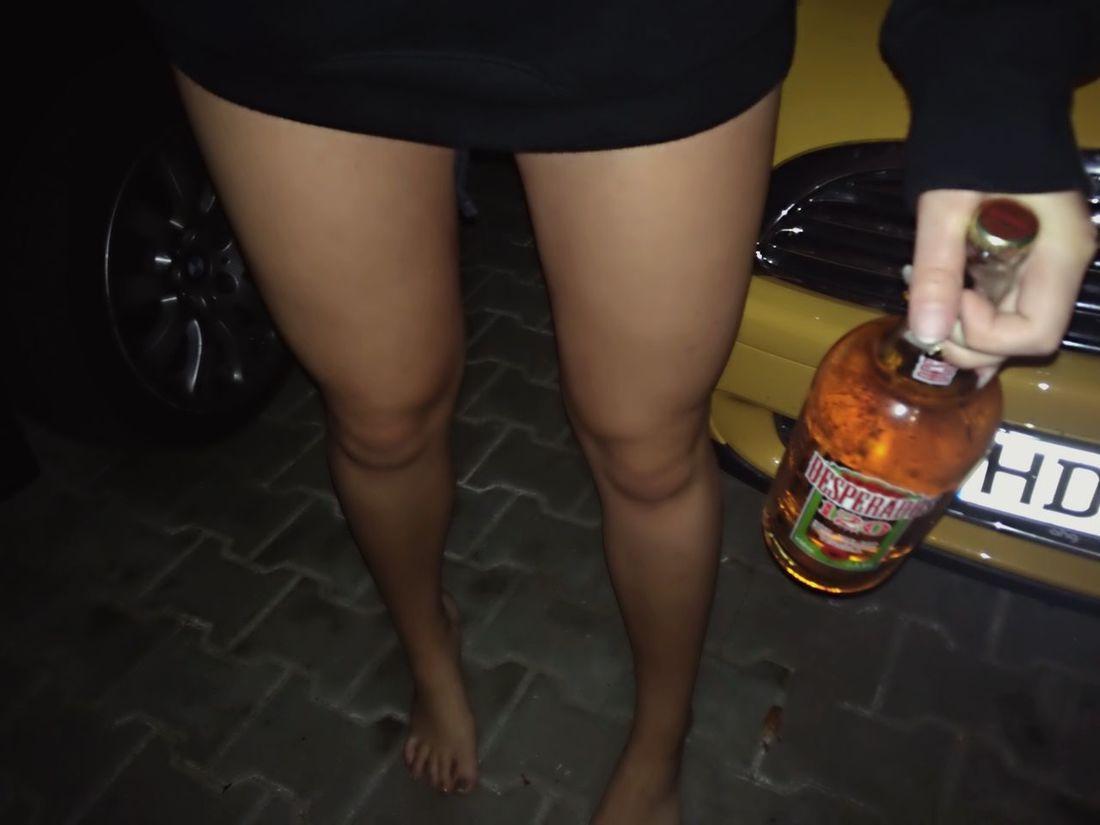 🍺 Streetstyle Street Life Gang Girl Legs Pott