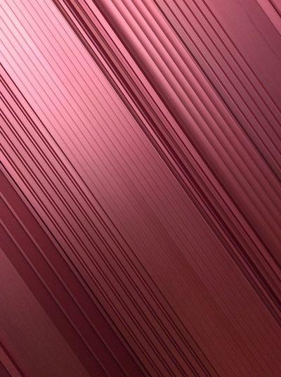 Pink Metal ArtWork Straight Lines And Shadow metal Diagonal Lines Textured  Close-up No People LINE Pattern IPad Mini I Pad Photography EyeEm Best Shots Feb 2017 USA Modern Hanging Phoenix, AZ