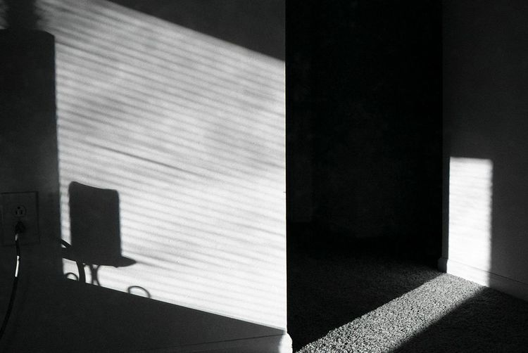 Abstract Close-up Dark Light Shadows