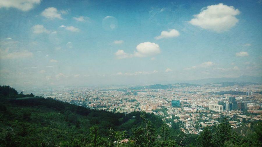 Un extenso Bogotá desde la Calera