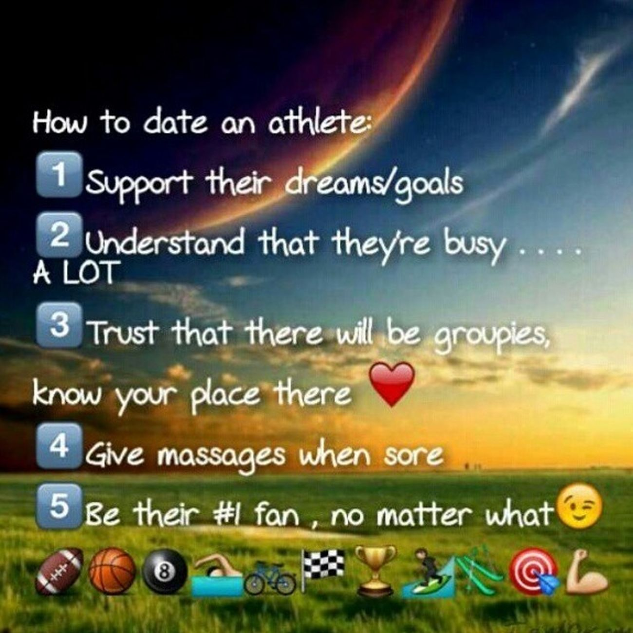 Dating A Athlete