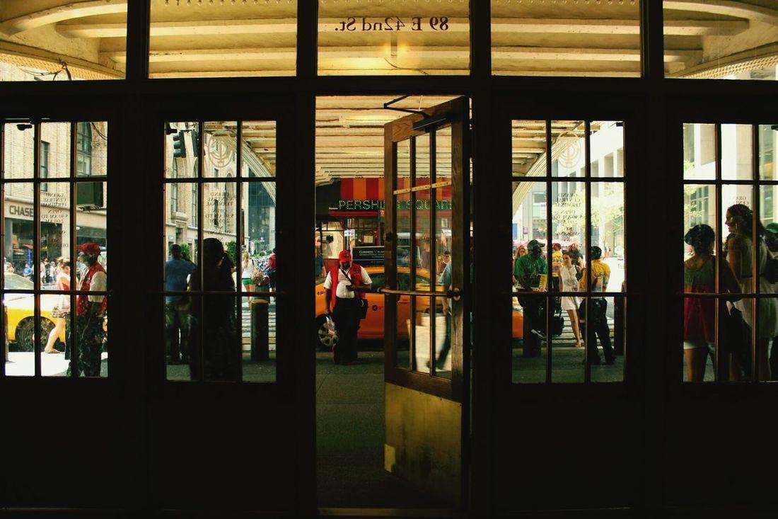I Heart New York Windows Taxicab Centralstation