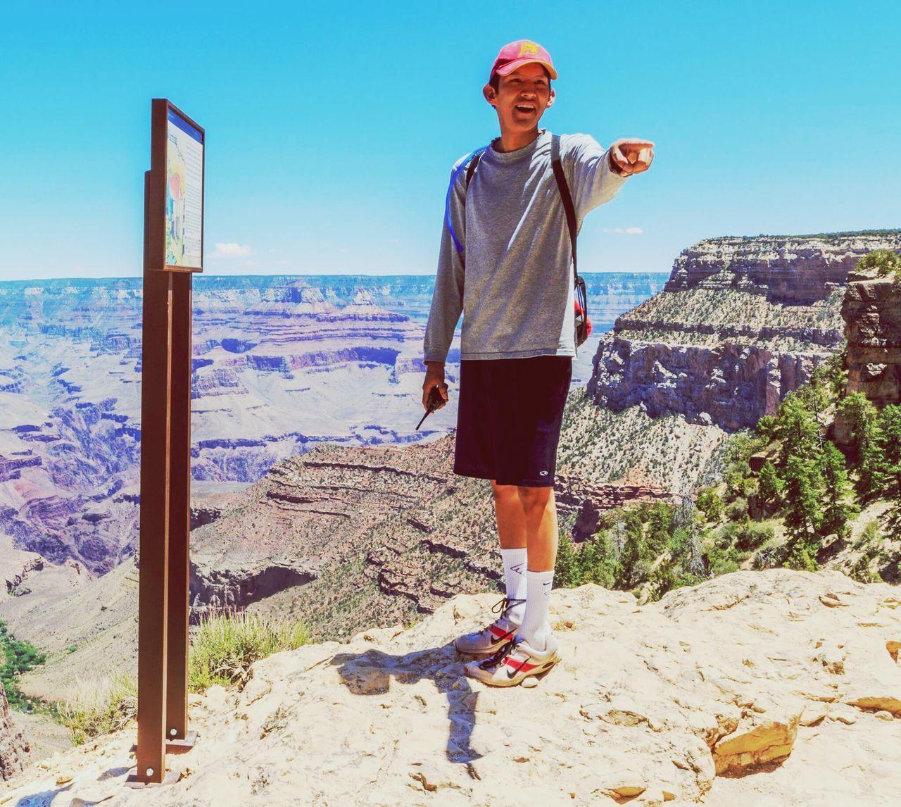 Me at the Grand Canyon. Standing One Person Outdoors Nature Day Grandcanyonnationalpark Grandcanyon Arizona Canyons Self Portrait
