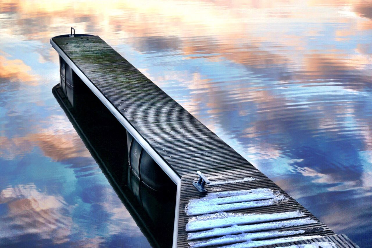 Beautiful stock photos of lake, Beauty In Nature, Cloud - Sky, Cold Temperature, Jetty