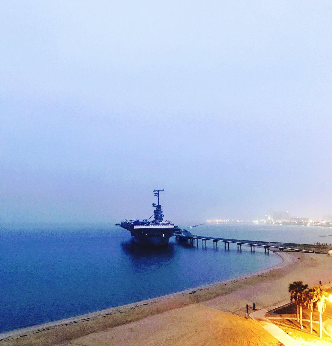 USS Lexington. Sea Nautical Vessel Scenics Beach EyeEmNewInHere