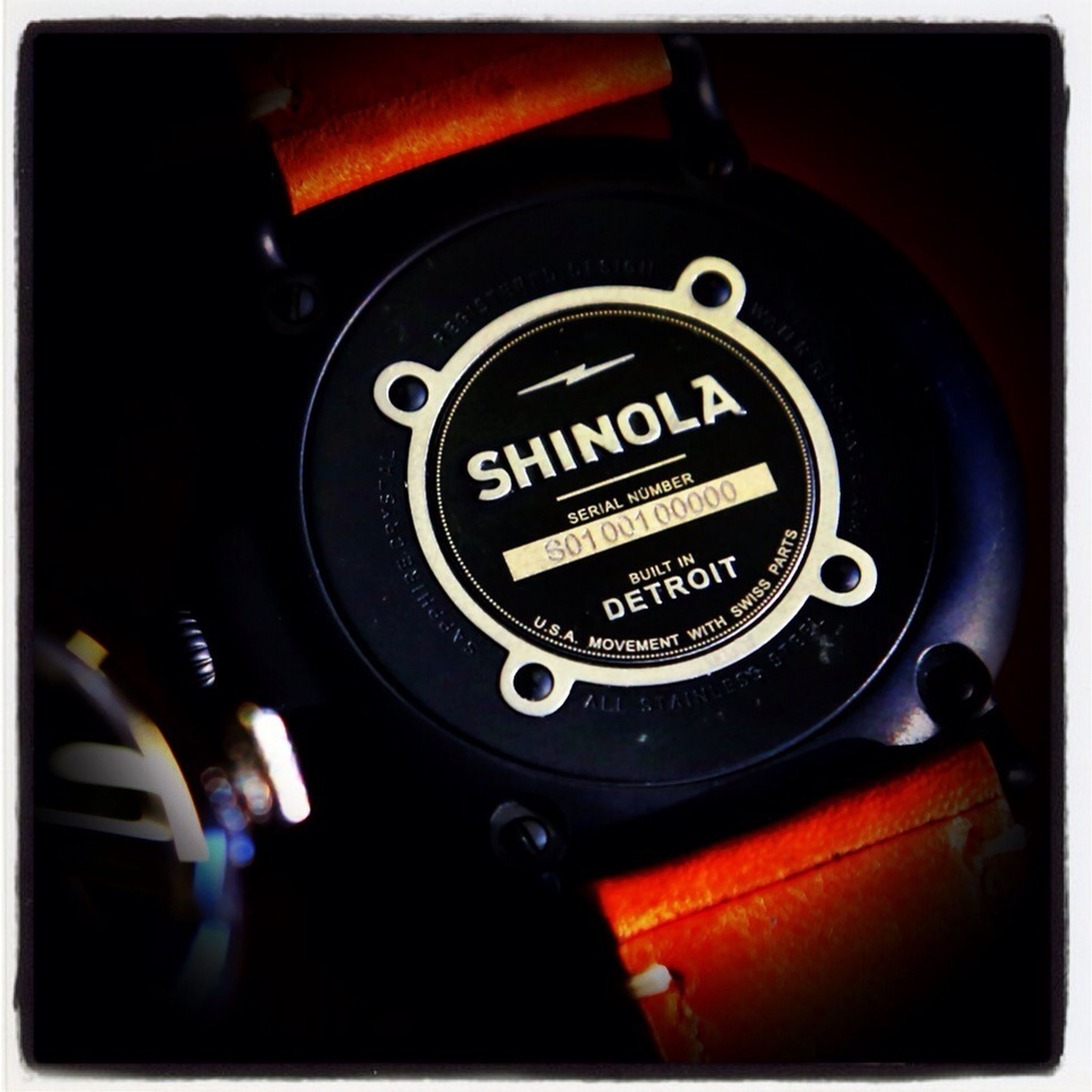 "Shinola watches are nice time pieces ""Built in Detroit"" with Detroit labor. The company is now the official watch & timekeeper of the IndyCar series race at the Detroit Grand Prix. Check out the Detroit Free Press story tomorrow."