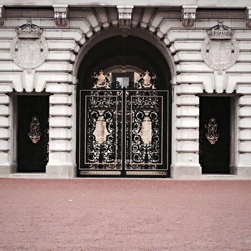 right outside the beautiful palace London Buckinghampalace First Eyeem Photo