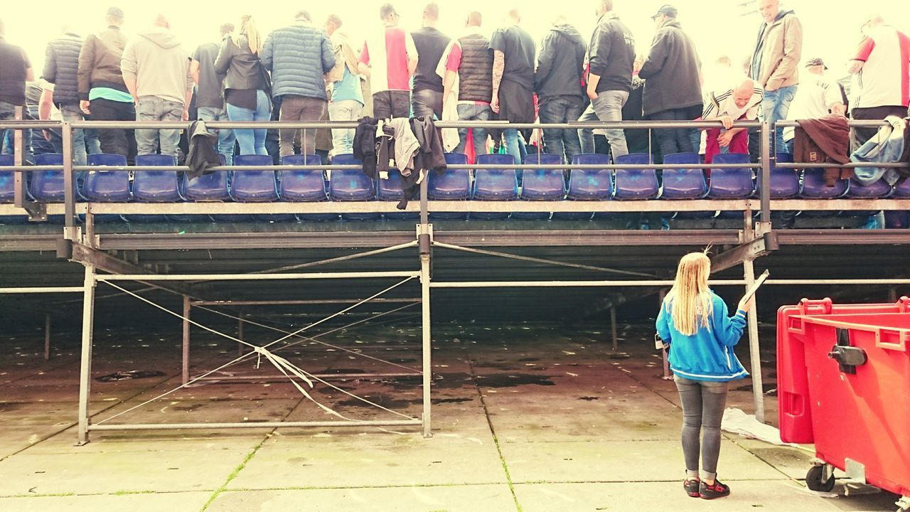 Full Length People Young Adult Outdoors Standing One Person One Young Woman Only Day Adult Rotterdam Match Championship (c) 2017 Shangita Bose All Rights Reserved Happy Feyenoord Fans The Street Photographer - 2017 EyeEm Awards The Photojournalist - 2017 EyeEm Awards Feyenoord Eredivisie Champion Winner