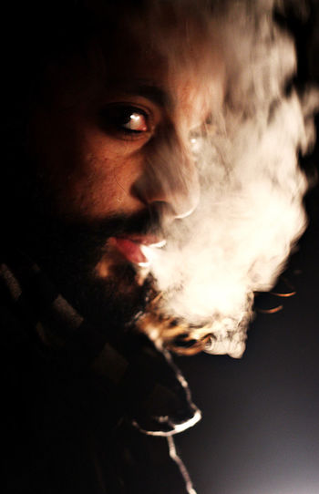 The Illuminator - 2014 EyeEm Awards Smoke Light And Shadow Bobtasia