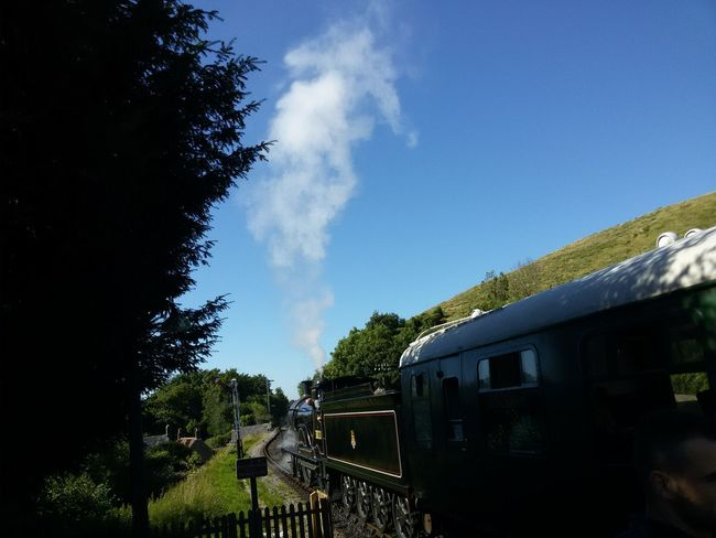 Steam from a steam engine Pivotal IdeasColour Of Life